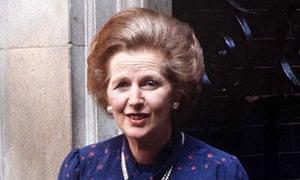 Margaret Thatcher circa 1981