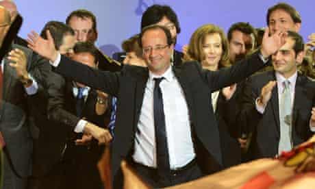 Francois Hollande Celebrates French Presidential Victory