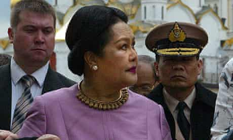 The Queen Sirikit of Thailand