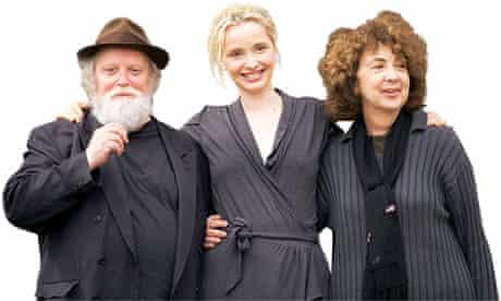 Julie Delpy and parents