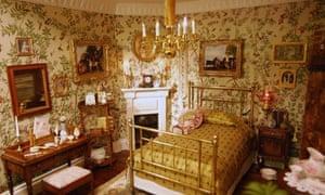 Lady Alesón's room in José Alesón's doll's house