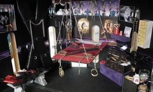 Sarah Whitlam's miniature bondage dungeon