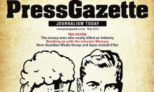 Press Gazette front cover