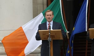 Enda Kenny hold a press conference in Dublin after the result of the EU vote.