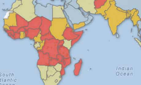 Health-related MDG progress check