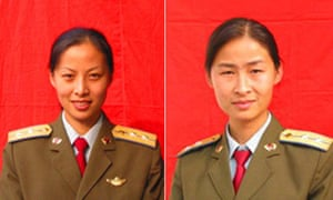 Either Captain Wang Yaping (l) or Major Liu Yang  will join the manned spacecraft docking mission.