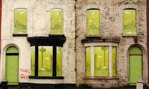 Derelict homes in Kensington, Liverpool