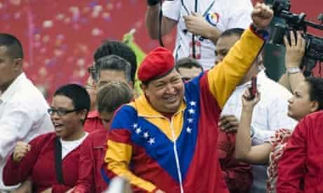 Hugo Chavez launches election campaign