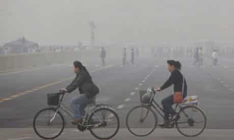 cycling in China sam swain