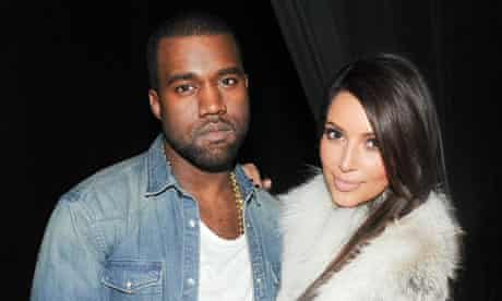 Kanye West and Kim Kardashian ... destined to be together