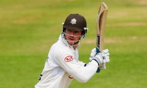 Surrey batsman Tom Maynard who has died, age 23, on District Line tracks in south London.