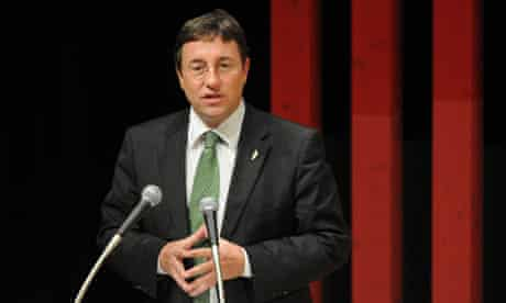 Executive director of United Nations Environment Programme (UNEP) Achim Steiner