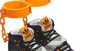 hot sales d5c37 5d77b Adidas slavery shoe withdrawn as shackles raise hackles