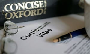 curriculum vitae and dictionary