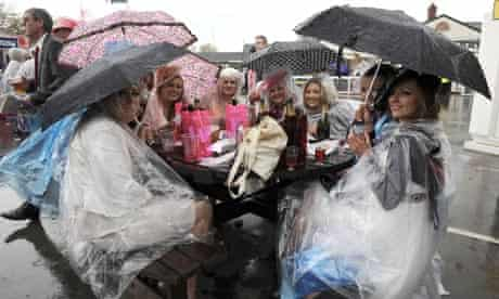 Ladies' Day at Aintree Races, Liverpool, 13 Apr 2012
