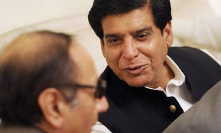 Pakistan's new prime minister, Raja Pervez Ashraf