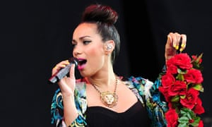 Leona Lewis at Radio 1's Hackney Weekend on Saturday