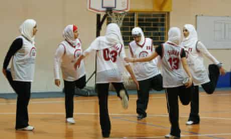 Saudi Arabia women basketball
