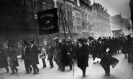 Unemployed march 1930