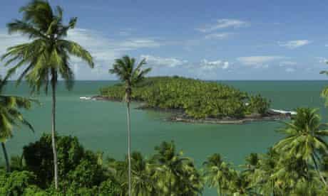 French Guiana devils island
