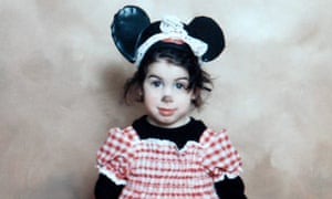 Amy Winehouse, aged six, at a Purim party