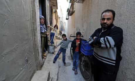 Abu Shawareb and his family