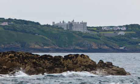 castle owned by the Barclay brothers on Sark
