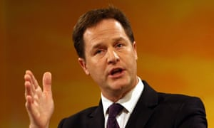 NIck Clegg House of Lords reforms