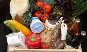 Produce from Exeter's Real Food Store