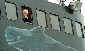 Anti-whaling activist Captain Paul Watson