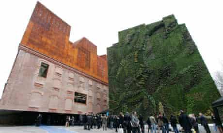 Caixa Forum arts centre in Madrid
