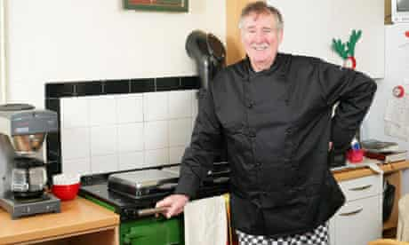 Frank Finlay, chef