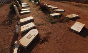 Commonwealth soldiers' graves were damaged by an Islamist group in Benghazi earlier this year.