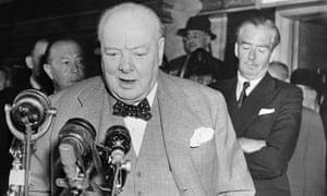 Winston Churchill microphones