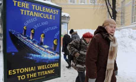 Estonia sign titanic