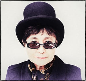 Yoko Ono in New York City, February 2012
