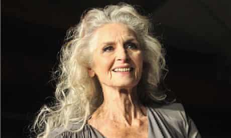 British model Daphne Selfe, 83, hits the catwalk, but many elderly people suffer low self-esteem.