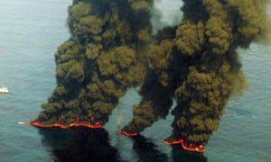 oil drilling spill Atlantic