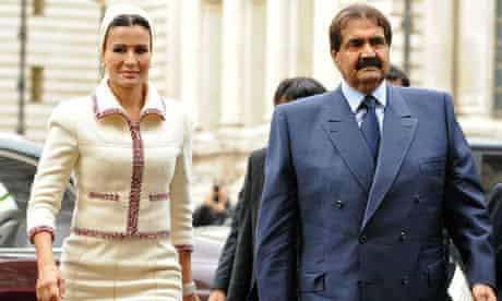 The Emir of Qatar, Sheikh Hamad bin Khal