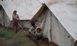 Burma displacement camp