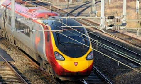 A Virgin Pendolino train
