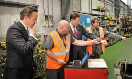 David Cameron Nick Clegg Smethwick