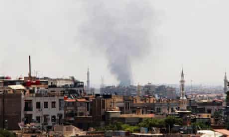 SYRIA-DAMASCUS-UNREST