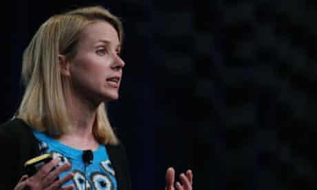 Yahoo! chief executive Marissa Mayer