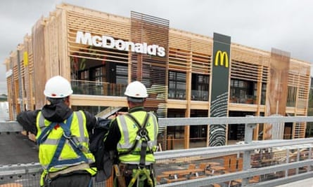 McDonald's London Olympic site
