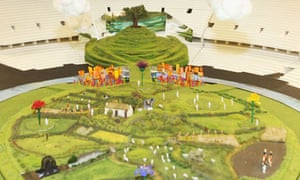 london 2012 olympic opening ceremony model