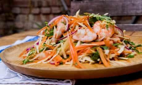 Angela Hartnett summer prawn salad