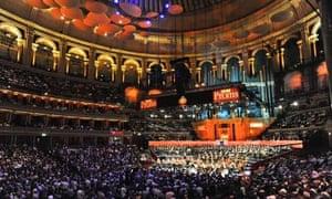 Proms, Albert Hall