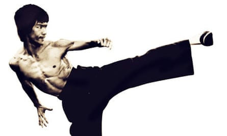 An image from the I Am Bruce Lee documentary