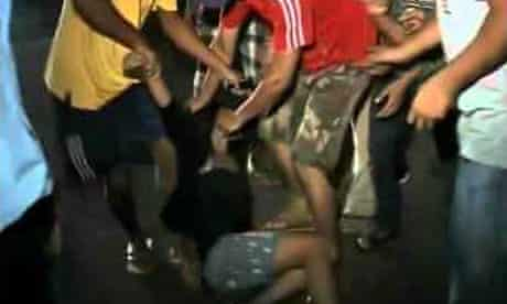 Video of a woman being molested in Guwahati, India